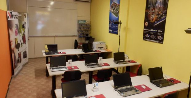 Aula corsi Infoshop